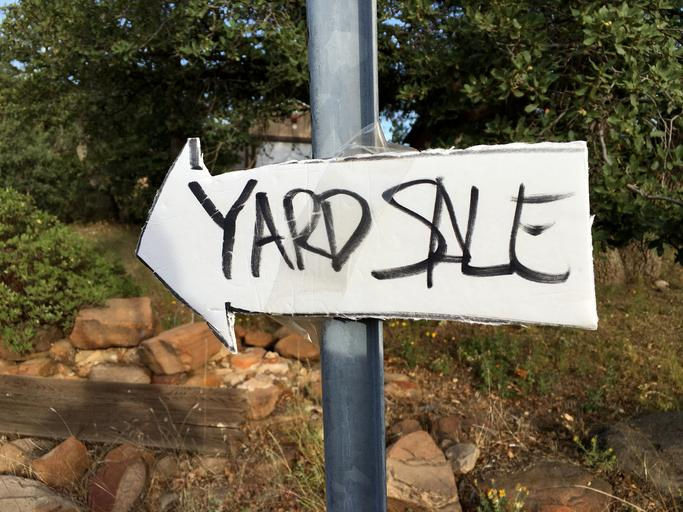 4 Tips For A Successful Yard Sale Mobile Attic Online